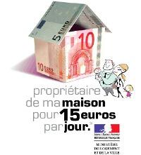 maison 15 euros par jour