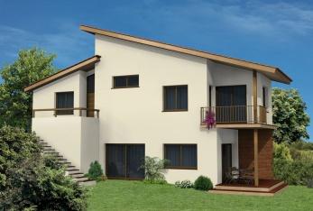 Constructeur eco habitat pr sente sa maison eco90 kit for Assurer sa maison hors d eau hors d air
