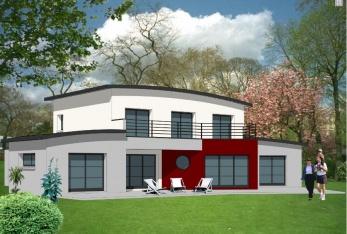 constructeur les maisons kervran pr sente sa maison mod le kervran. Black Bedroom Furniture Sets. Home Design Ideas