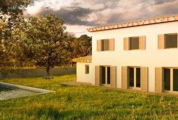 Photo maison Modèle BASTIDE de 100M2 avec Garage 15M2