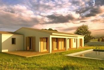 Photo maison Villa Plain Pied de 100M2 avec garage