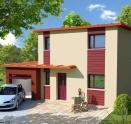 maison individuelle Maison ossature bois