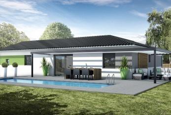 constructeur maisons bati france pr sente sa maison mod le amandier traditionnel. Black Bedroom Furniture Sets. Home Design Ideas