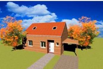 Miniature photo maison Kit Standing 8 - 80m² - Bois
