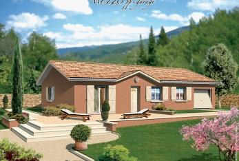 constructeur maisons punch pr sente sa maison salsa avec garage l tage. Black Bedroom Furniture Sets. Home Design Ideas