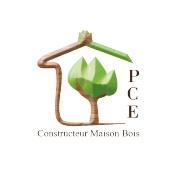 Logo P.C.E.  Maison Bois