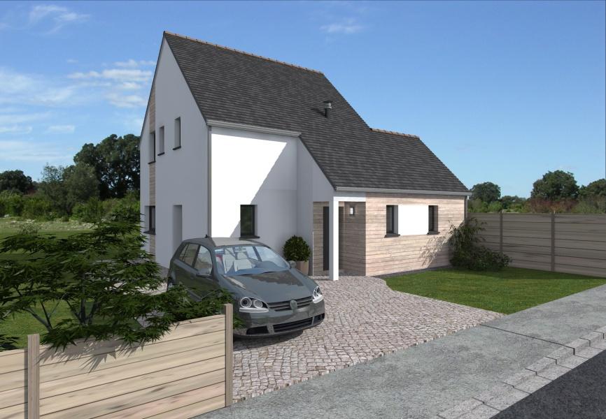 Constructeur alliance construction pr sente sa maison erine - Simulateur de construction de maison ...