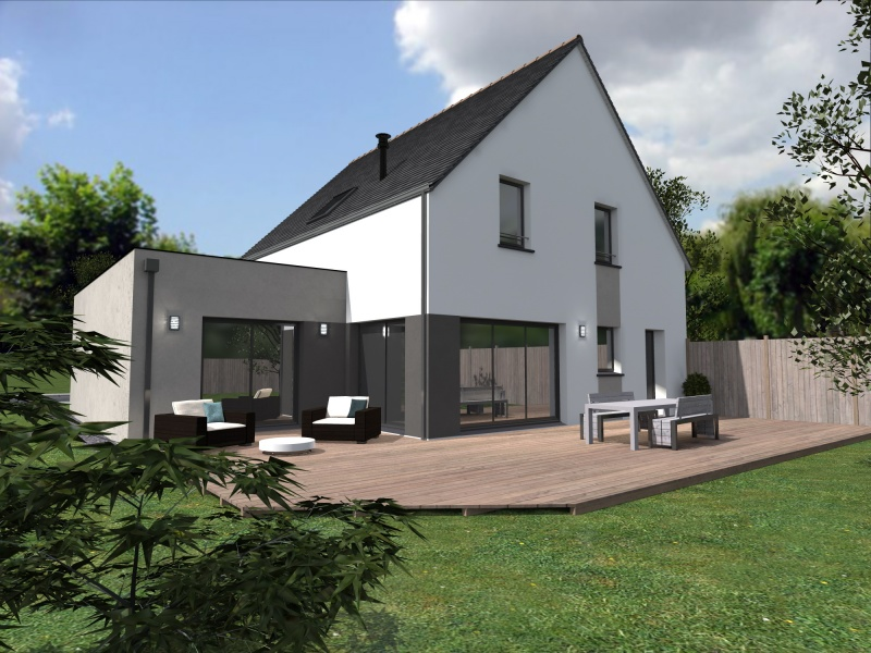 Constructeur alliance construction pr sente sa maison for Construction de maison 77