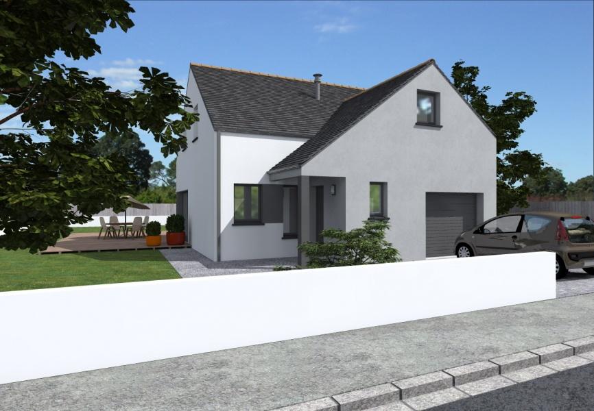 Constructeur alliance construction pr sente sa maison milla - Simulateur de construction de maison ...
