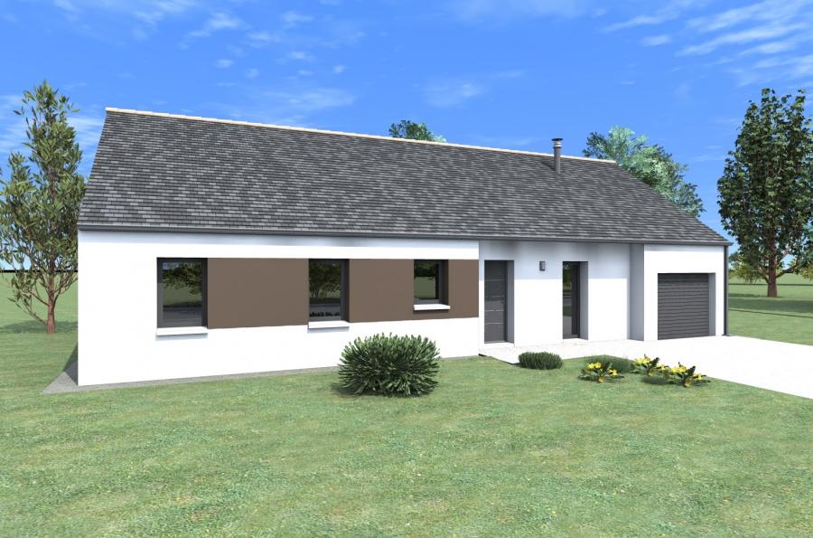 constructeur alliance construction pr sente sa maison datis. Black Bedroom Furniture Sets. Home Design Ideas