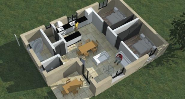 Constructeur avance habitat concept pr sente sa maison for Modele maison habitat concept