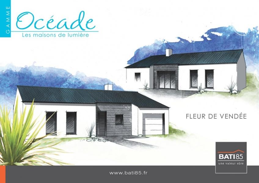 Constructeur Bati 85 présente sa maison Oceade fleur de vendée # Maison En Bois Vendée