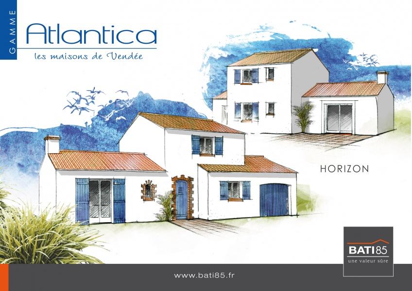 Constructeur bati 85 pr sente sa maison horizon atlantica for Modele maison horizon