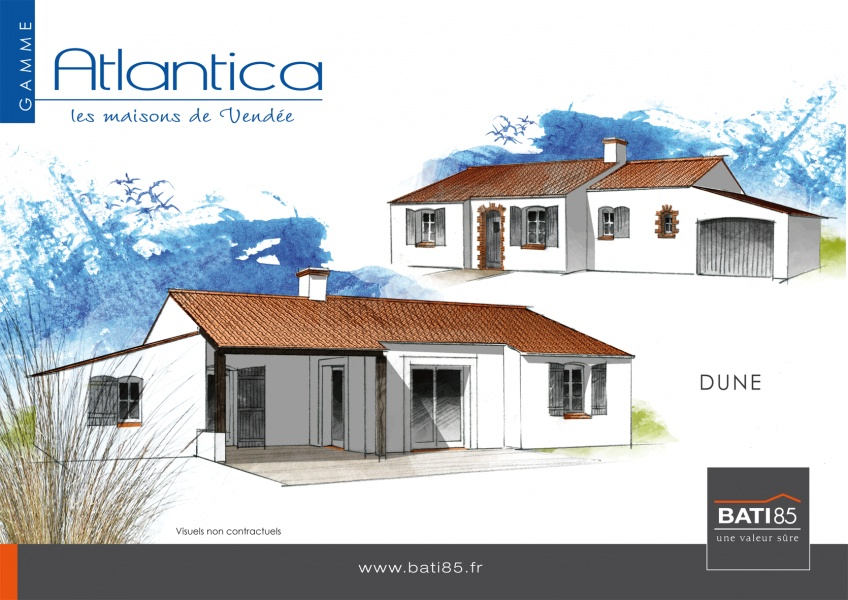 Constructeur bati 85 pr sente sa maison dunes atlantica for Maison bati