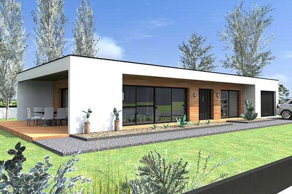 Constructeur brp ctc pr sente sa maison station for Differente toiture maison