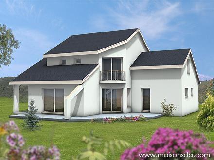 Constructeur comebat construction pr sente sa maison mod le eros pr t d corer - Maison pret a decorer ...