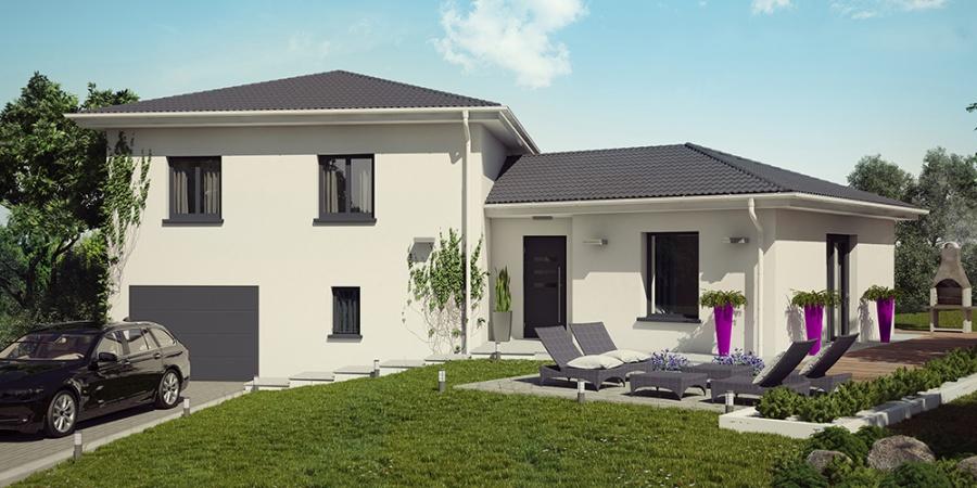 Constructeur demeures caladoises pr sente sa maison for Acheter terrain et construire sa maison