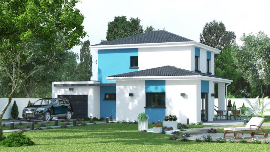 constructeur demeures caladoises pr sente sa maison madere. Black Bedroom Furniture Sets. Home Design Ideas