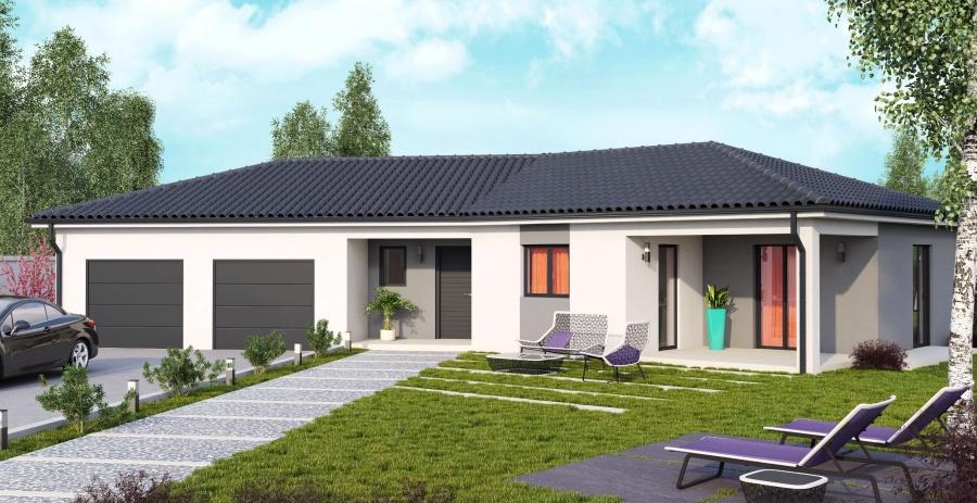 Constructeur demeures caladoises pr sente sa maison moorea for Model de maison americaine