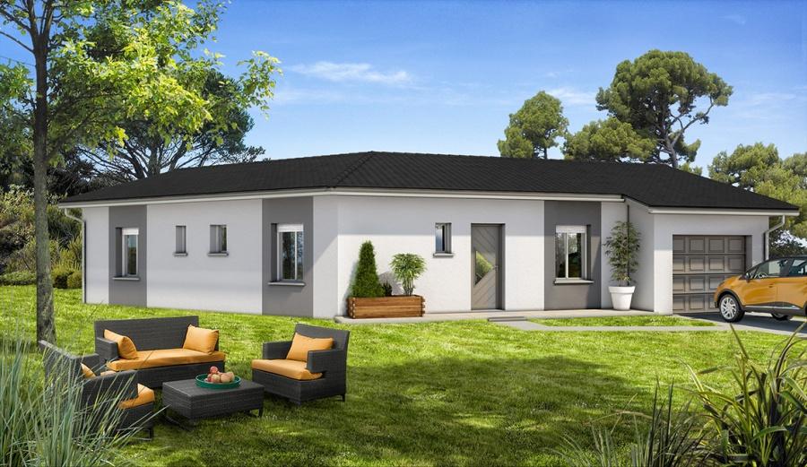 constructeur demeures d 39 aquitaine pr sente sa maison mod le eb ne. Black Bedroom Furniture Sets. Home Design Ideas
