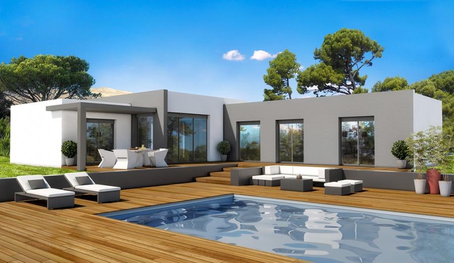 constructeur demeures d 39 aquitaine pr sente sa maison mod le palmier. Black Bedroom Furniture Sets. Home Design Ideas