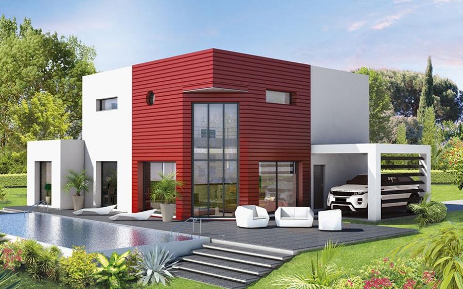 Constructeur demeures d 39 occitanie pr sente sa maison for Modele de villa a construire