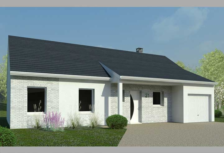 constructeur habitat concept pr sente sa maison neuve maison 3 chambres dans agglo gare pied. Black Bedroom Furniture Sets. Home Design Ideas