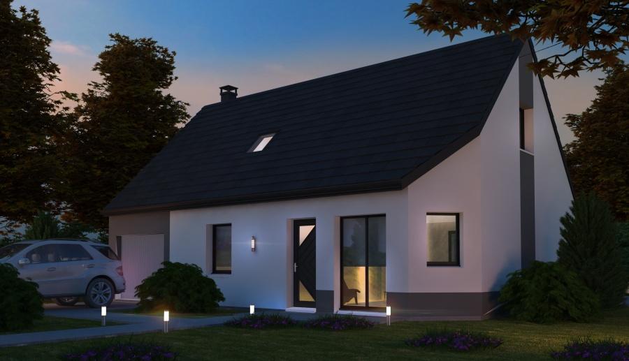 Constructeur habitat concept pr sente sa maison neuve 28130 maintenon pr t d corer - Maison pret a decorer ...