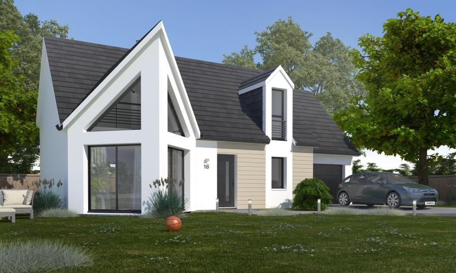 Constructeur habitat concept pr sente sa maison pc 16b for Constructeur 37