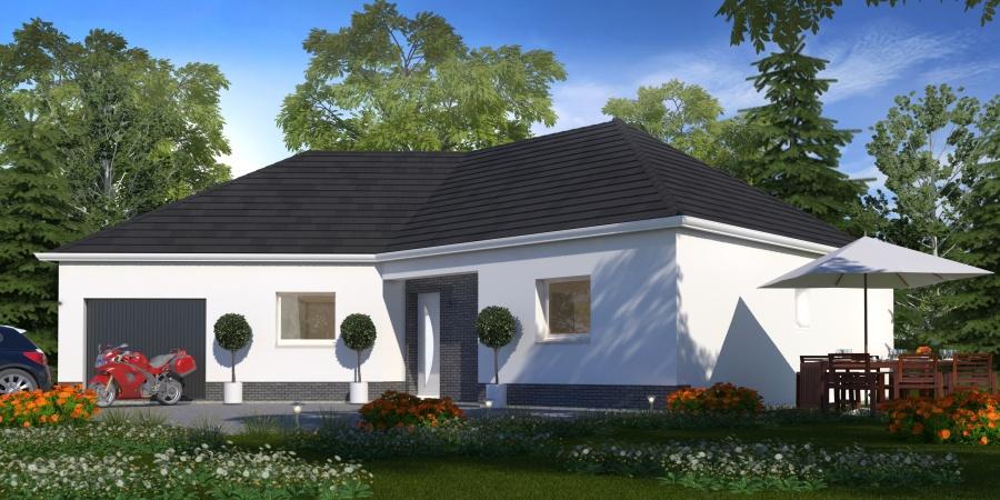 Constructeur habitat concept pr sente sa maison pc 48 for Construire une maison a 70000 euros