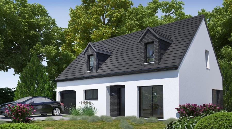 Constructeur habitat concept pr sente sa maison pc 53 for Constructeur de maison en kit