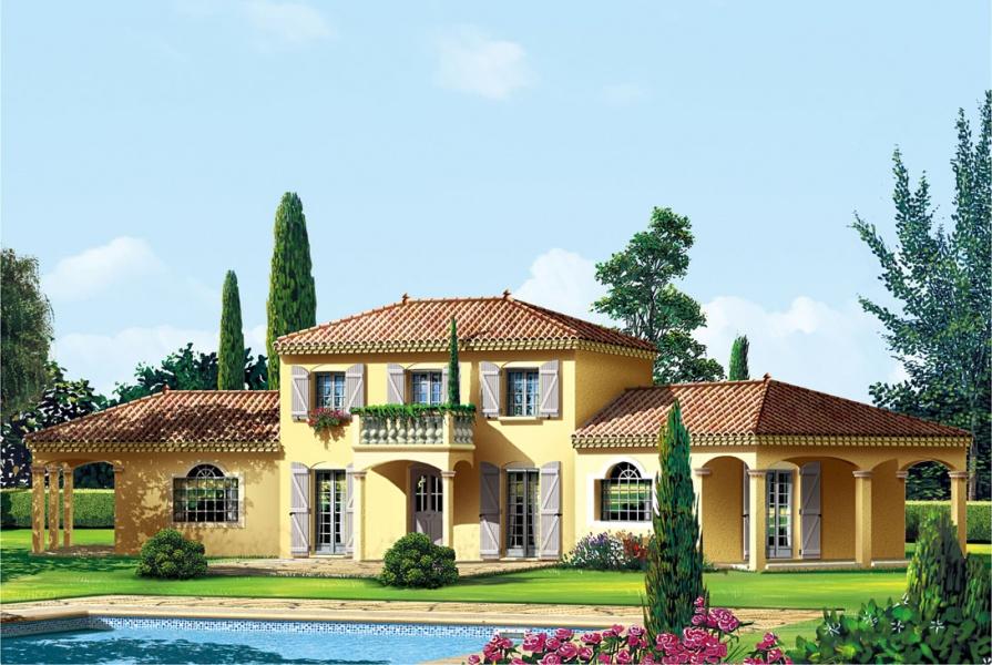 constructeur la maison des compagnons pr sente sa maison mc 55. Black Bedroom Furniture Sets. Home Design Ideas