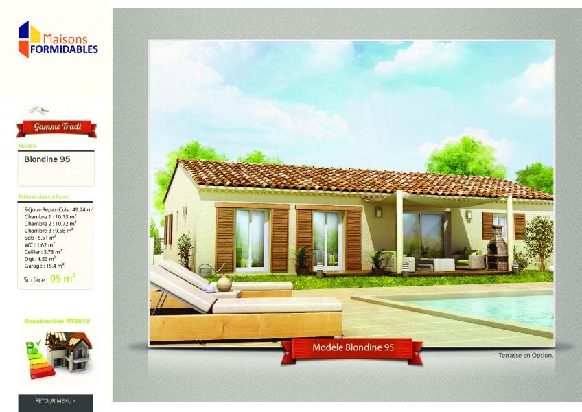 Constructeur les maisons formidables pr sente sa maison for Modele maison ganova