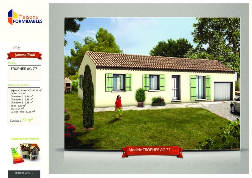 Constructeur les maisons formidables pr sente sa maison for Constructeur maison 77