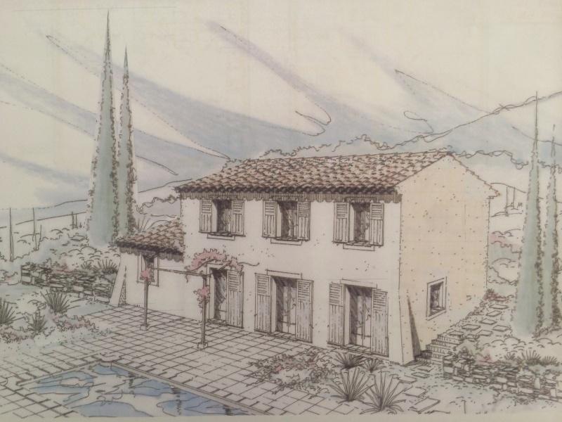 constructeur les mas et traditions de provence pr sente sa maison modele bastide. Black Bedroom Furniture Sets. Home Design Ideas