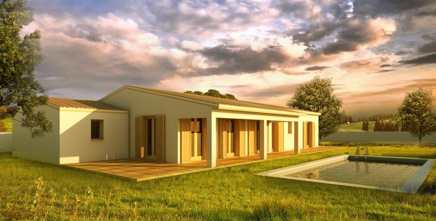 Plan maison 100m2 plein pied gratuit gallerie maisons - Prix d une maison plein pied 100m2 ...