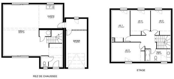 Constructeur maison archi concept pr sente sa maison neuve - Maison pret a decorer ...