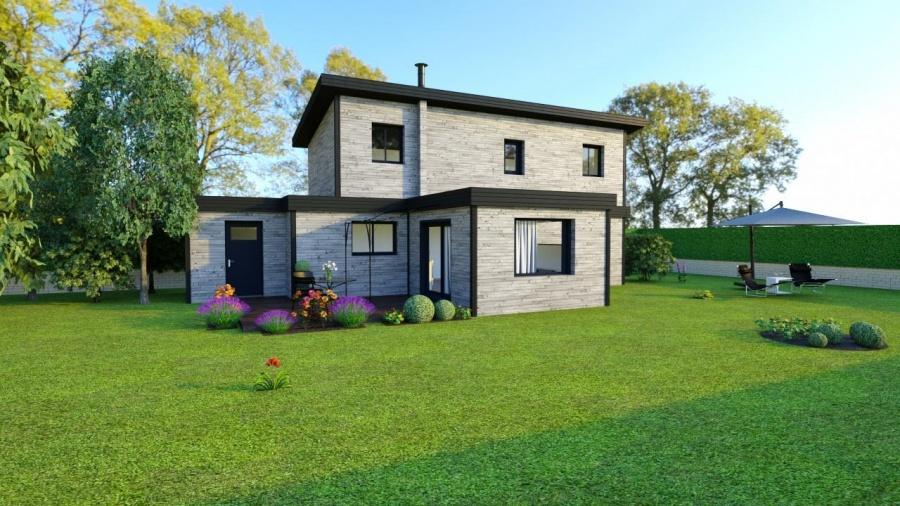 constructeur maison bois d riv s pr sente sa maison pegasus. Black Bedroom Furniture Sets. Home Design Ideas