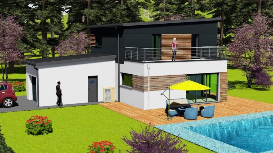 photo maison chouette mtallique - Construction Maison Metallique Particulier