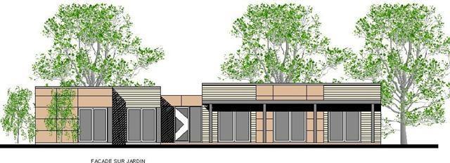 constructeur maison eco malin pr sente sa maison mod le urban metallica kit. Black Bedroom Furniture Sets. Home Design Ideas