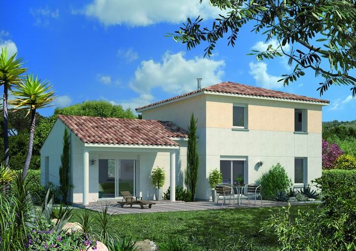 Stunning melina etage with modele maison familiale for Modele maison familiale