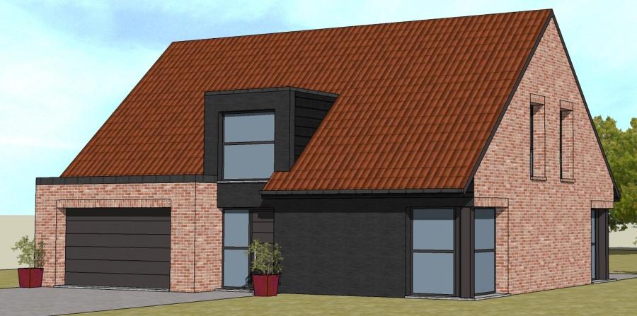 constructeur maisons arlogis pr sente sa maison contemporaine. Black Bedroom Furniture Sets. Home Design Ideas