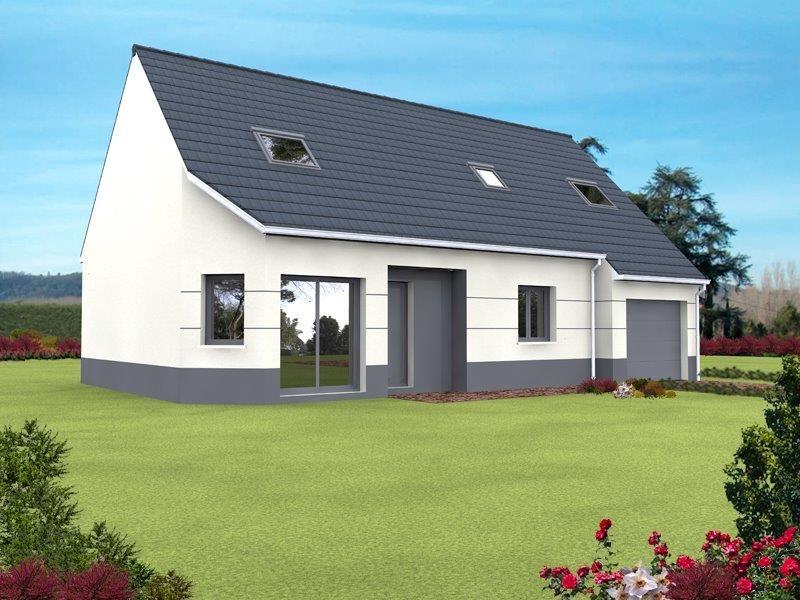 Constructeur maisons arlogis normandie pr sente sa maison for Constructeur de maison normandie