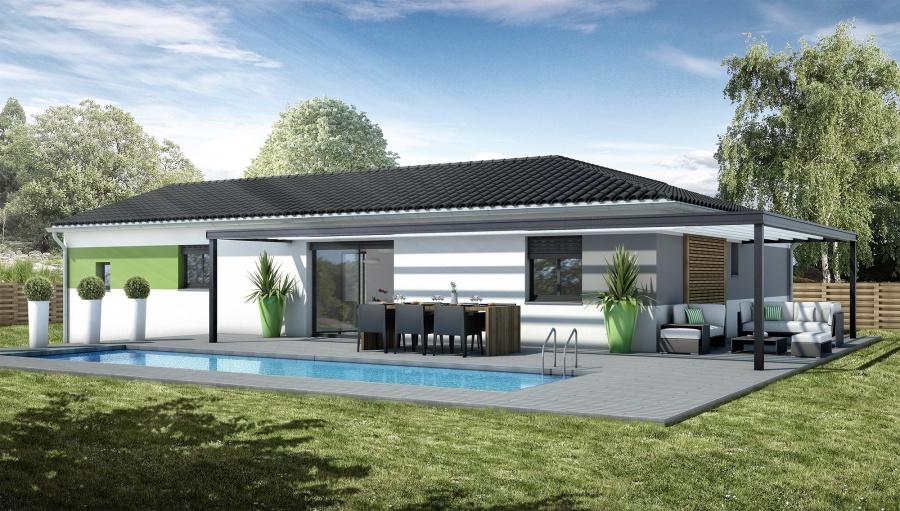 Constructeur maisons bati france pr sente sa maison mod le - Modele de maison en v ...