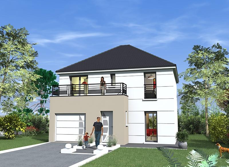 Constructeur maisons berval pr sente sa maison berval 100g for Liste de constructeur de maison