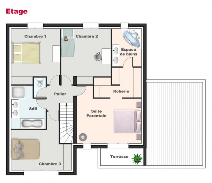 Modele de maison cubique maison moderne for Plan de maison cubique