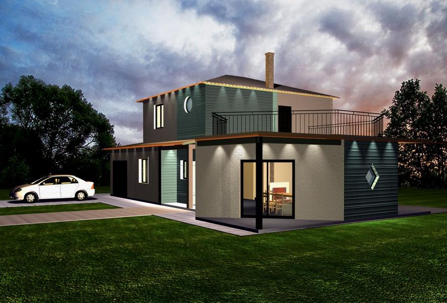 Constructeur maisons caly 39 or pr sente sa maison maisons for Constructeur maison bbc