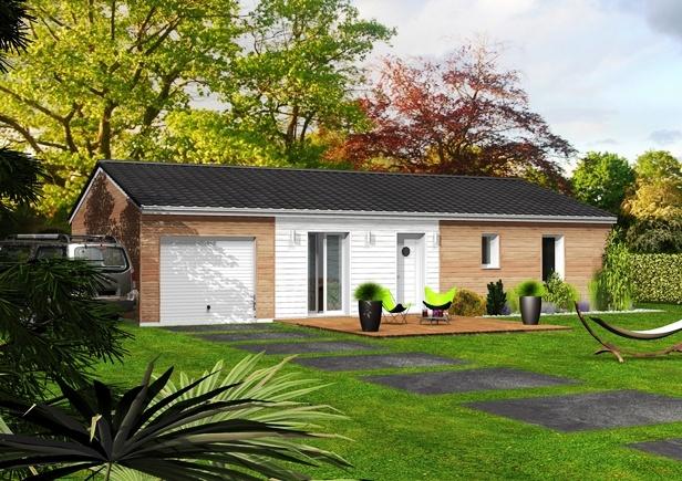constructeur maisons clairlande bois pr sente sa maison nacree. Black Bedroom Furniture Sets. Home Design Ideas