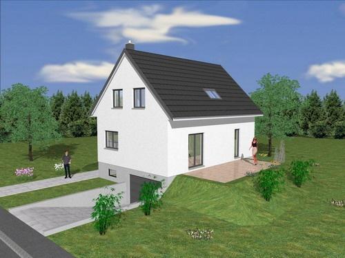 Constructeur maisons creativ pr sente sa maison mod le for Constructeur maison 42