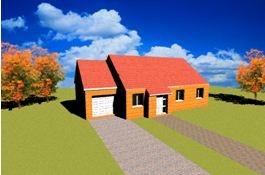 constructeur maisons france for t pr sente sa maison standing 2 120m pr t finir. Black Bedroom Furniture Sets. Home Design Ideas
